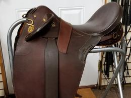 """#54 Used Australian stock saddle 16"""""""